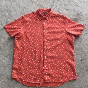 Michael Kors button up casual dress shirt